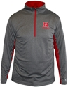 Mens Charcoal 1/4 Zip Pullover Nebraska Cornhuskers, Nebraska  Mens Sweatshirts, Huskers  Mens Sweatshirts, Nebraska  Mens, Huskers  Mens, Nebraska  Zippered , Huskers  Zippered , Nebraska Mens Charcoal 1/4 Zip Pullover, Huskers Mens Charcoal 1/4 Zip Pullover