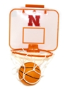 Mini Basketball Hoop Nebraska Cornhuskers, Nebraska  Basketball, Huskers  Basketball, Nebraska  Office Den & Entry, Huskers  Office Den & Entry, Nebraska  Game Room & Big Red Room, Huskers  Game Room & Big Red Room, Nebraska  Toys & Games, Huskers  Toys & Games, Nebraska  Balls, Huskers  Balls, Nebraska Mini Basketball Hoop, Huskers Mini Basketball Hoop