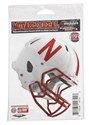 Movable Helmet Decal Nebraska Cornhuskers, Nebraska Stickers Decals & Magnets, Huskers Stickers Decals & Magnets, Nebraska Vehicle   , Huskers Vehicle   , Nebraska Movable Helmet Decal, Huskers Movable Helmet Decal