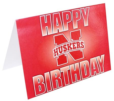 Happy Birthday Card N Logo Fg