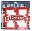 N Huskers Logo on The Gogo Nebraska Cornhuskers, Nebraska Vehicle, Huskers Vehicle, Nebraska  Novelty, Huskers  Novelty, Nebraska N Huskers Logo on The Gogo, Huskers N Huskers Logo on The Gogo