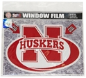 N Huskers Window Film Nebraska Cornhuskers, Nebraska Stickers Decals & Magnets, Huskers Stickers Decals & Magnets, Nebraska Vehicle, Huskers Vehicle, Nebraska  Tailgating, Huskers  Tailgating, Nebraska N Huskers Window Film, Huskers N Huskers Window Film