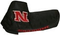 Nebraksa Blade Putter Cover Nebraska Cornhuskers, Nebraska Golf Items, Huskers Golf Items, Nebraska Nebraksa Blade Putter Cover, Huskers Nebraksa Blade Putter Cover