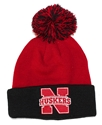 Nebraksa Youth Pom Knit Nebraska Cornhuskers, Nebraska  Childrens, Huskers  Childrens, Nebraska  Youth, Huskers  Youth, Nebraska  Kids Hats, Huskers  Kids Hats, Nebraska Nebraksa Youth Pom Knit, Huskers Nebraksa Youth Pom Knit