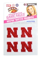 Nebraska 4 Pack Glitter Face Tattoos Nebraska Cornhuskers, Nebraska  Tattoos & Patches, Huskers  Tattoos & Patches, Nebraska  Beads & Fun Stuff, Huskers  Beads & Fun Stuff, Nebraska  Tattoos & Patches, Huskers  Tattoos & Patches, Nebraska Nebraska 4Pk Glitter Face Tattoos , Huskers Nebraska 4Pk Glitter Face Tattoos