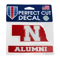 Nebraska N State Alumni Decal Nebraska Cornhuskers, Nebraska Vehicle, Huskers Vehicle, Nebraska Stickers Decals & Magnets, Huskers Stickers Decals & Magnets, Nebraska Nebraska Alumni Decal, Huskers Nebraska Alumni Decal