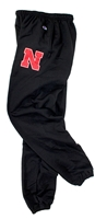 Nebraska Banded Champ Sweatpant Nebraska Cornhuskers, Nebraska  Mens Shorts & Pants, Huskers  Mens Shorts & Pants, Nebraska Shorts & Pants, Huskers Shorts & Pants, Nebraska Black Banded Bottom Champ Sweatpant, Huskers Black Banded Bottom Champ Sweatpant