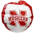 Nebraska Bean Bag Chair Nebraska Cornhuskers, Nebraska  Novelty, Huskers  Novelty, Nebraska  Office Den & Entry, Huskers  Office Den & Entry, Nebraska  Game Room & Big Red Room , Huskers  Game Room & Big Red Room , Nebraska Nebraska Bean Bag Chair, Huskers Nebraska Bean Bag Chair