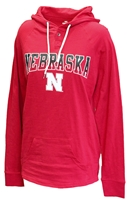 Nebraska Big Air Hooded Tee  Nebraska Cornhuskers, Nebraska  Mens T-Shirts, Huskers  Mens T-Shirts, Nebraska  Mens, Huskers  Mens, Nebraska  Long Sleeve, Huskers  Long Sleeve, Nebraska Big Air Red LS Hooded Tee Col, Huskers Big Air Red LS Hooded Tee Col