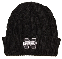 Nebraska Cable Knit Empire Cuffed Lid Nebraska Cornhuskers, Nebraska  Mens Hats, Huskers  Mens Hats, Nebraska  Ladies Hats, Huskers  Ladies Hats, Nebraska  Mens Hats, Huskers  Mens Hats, Nebraska  Ladies Hats, Huskers  Ladies Hats, Nebraska Nebraska Cable Knit Empire Cuffed Lid, Huskers Nebraska Cable Knit Empire Cuffed Lid