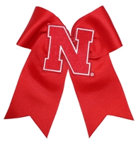 Nebraska Cheer Bow Nebraska Cornhuskers, Nebraska  Jewelry & Hair, Huskers  Jewelry & Hair, Nebraska  Ladies Accessories, Huskers  Ladies Accessories, Nebraska  Ladies, Huskers  Ladies, Nebraska Red Large Cheer Bow DC, Huskers Red Large Cheer Bow DC