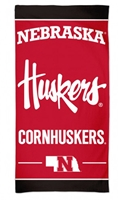 Nebraska Cornhuskers Beach Towel Nebraska Cornhuskers, Nebraska  Tailgating, Huskers  Tailgating, Nebraska  Summer Fun, Huskers  Summer Fun, Nebraska  Bedroom & Bathroom, Huskers  Bedroom & Bathroom, Nebraska  Patio, Lawn & Garden , Huskers  Patio, Lawn & Garden , Nebraska Nebraska Cornhuskers Beach Towel, Huskers Nebraska Cornhuskers Beach Towel