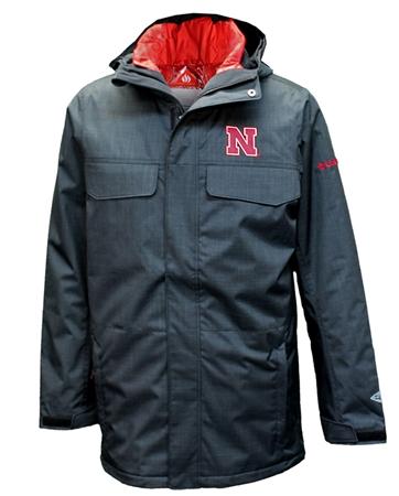 b554279b650 Nebraska Cornhuskers Columbia 2 N 1 Jacket
