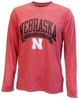 Nebraska Cornhuskers In Pursuit Tee Nebraska Cornhuskers, Nebraska  Mens T-Shirts, Huskers  Mens T-Shirts, Nebraska  Mens, Huskers  Mens, Nebraska  Long Sleeve, Huskers  Long Sleeve, Nebraska Red LS In Pursuit Champ Tee, Huskers Red LS In Pursuit Champ Tee