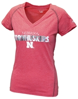 Nebraska Cornhuskers Ladies Stitch V-Neck Tee Nebraska Cornhuskers, Nebraska  Ladies Tops, Huskers  Ladies Tops, Nebraska  Ladies T-Shirts, Huskers  Ladies T-Shirts, Nebraska  Ladies, Huskers  Ladies, Nebraska  Short Sleeve, Huskers  Short Sleeve, Nebraska Red W Vneck Cornhuskers Goal Champ Tee, Huskers Red W Vneck Cornhuskers Goal Champ Tee
