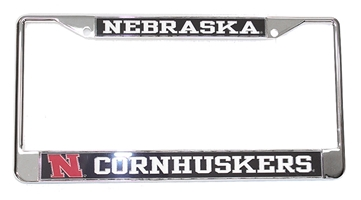 Nebraska Cornhuskers License Frame Nebraska Cornhuskers, Nebraska Vehicle, Huskers Vehicle, Nebraska Nebraska Cornhuskers License Plate Frame, Huskers Nebraska Cornhuskers License Plate Frame