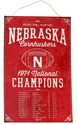 Nebraska Cornhuskers National Champs Vintage Tin Sign Nebraska Cornhuskers, Nebraska  Bedroom & Bathroom, Huskers  Bedroom & Bathroom, Nebraska  Office Den & Entry, Huskers  Office Den & Entry, Nebraska  Game Room & Big Red Room, Huskers  Game Room & Big Red Room, Nebraska  Framed Pieces, Huskers  Framed Pieces, Nebraska Nebraska Cornhuskers National Champs Vintage Tin Sign, Huskers Nebraska Cornhuskers National Champs Vintage Tin Sign
