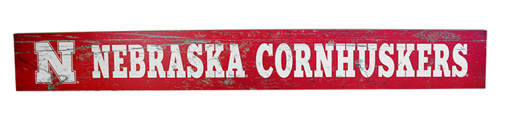 Nebraska Cornhuskers Plank Sign Nebraska Cornhuskers, Nebraska  Bedroom & Bathroom, Huskers  Bedroom & Bathroom, Nebraska  Game Room & Big Red Room, Huskers  Game Room & Big Red Room, Nebraska  Framed Pieces, Huskers  Framed Pieces, Nebraska Nebraska Cornhuskers Plank Sign, Huskers Nebraska Cornhuskers Plank Sign