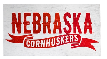 Nebraska Cornhuskers Tailsweep Plank Nebraska Cornhuskers, Nebraska  Bedroom & Bathroom, Huskers  Bedroom & Bathroom, Nebraska  Game Room & Big Red Room, Huskers  Game Room & Big Red Room, Nebraska  Framed Pieces, Huskers  Framed Pieces, Nebraska Nebraska Cornhuskers Tailsweep Plank, Huskers Nebraska Cornhuskers Tailsweep Plank