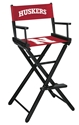 Nebraska Directors Chair Bar Height Nebraska Cornhuskers, Nebraska  Game Room & Big Red Room, Huskers  Game Room & Big Red Room, Nebraska  Tailgating, Huskers  Tailgating, Nebraska Nebraska Directors Chair Bar Height, Huskers Nebraska Directors Chair Bar Height