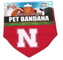 Nebraska Dog Collar Bandana Nebraska Cornhuskers, Nebraska Pet Items, Huskers Pet Items, Nebraska Nebraska Dog Collar Bandana, Huskers Nebraska Dog Collar Bandana