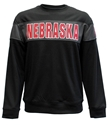 Nebraska Embroidered Color Block Crew Nebraska Cornhuskers, Nebraska  Mens Sweatshirts, Huskers  Mens Sweatshirts, Nebraska  Mens, Huskers  Mens, Nebraska  Crew, Huskers  Crew, Nebraska Nebraska Embroidered Color Block Crew, Huskers Nebraska Embroidered Color Block Crew