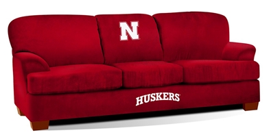 Nebraska First Team Micro Fiber Sofa Nebraska Cornhuskers, Nebraska  Game Room & Big Red Room, Huskers  Game Room & Big Red Room, Nebraska  Office Den & Entry, Huskers  Office Den & Entry, Nebraska  Bedroom & Bathroom, Huskers  Bedroom & Bathroom, Nebraska Nebraska First Team Micro Fiber Sofa, Huskers Nebraska First Team Micro Fiber Sofa
