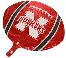 Nebraska Football Foil Balloon Nebraska Cornhuskers, Nebraska  Game Room & Big Red Room, Huskers  Game Room & Big Red Room, Nebraska  Tailgating, Huskers  Tailgating, Nebraska  Novelty, Huskers  Novelty, Nebraska  Summer Fun, Huskers  Summer Fun, Nebraska Nebraska Football Foil Balloon, Huskers Nebraska Football Foil Balloon