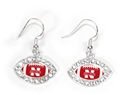 Nebraska Football Rhinestone Earrings Nebraska Cornhuskers, Nebraska  Ladies Accessories, Huskers  Ladies Accessories, Nebraska  Ladies, Huskers  Ladies, Nebraska  Jewelry & Hair, Huskers  Jewelry & Hair, Nebraska Nebraska Football Rhinestone Earrings, Huskers Nebraska Football Rhinestone Earrings