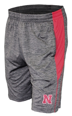 Nebraska Fundamentals Shorts Nebraska Cornhuskers, Nebraska  Mens Shorts & Pants, Huskers  Mens Shorts & Pants, Nebraska Shorts & Pants, Huskers Shorts & Pants, Nebraska Gray Fundamentals Short Col, Huskers Gray Fundamentals Short Col