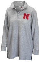 Nebraska Gals 3 Button Sherpa Nebraska Cornhuskers, Nebraska  Ladies Outerwear, Huskers  Ladies Outerwear, Nebraska  Ladies, Huskers  Ladies, Nebraska Nebraska Gals 3 Button Sherpa, Huskers Nebraska Gals 3 Button Sherpa