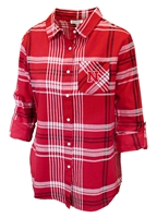 Nebraska Gals Boyfriend Plaid Pocket Flannel Nebraska Cornhuskers, Nebraska  Ladies Tops, Huskers  Ladies Tops, Nebraska Polos, Huskers Polos, Nebraska Nebraska Gals Boyfriend Plaid Pocket Flannel, Huskers Nebraska Gals Boyfriend Plaid Pocket Flannel