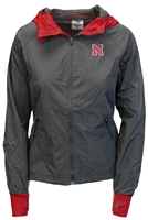 Nebraska Gals Full Zip Hooded Jacket Nebraska Cornhuskers, Nebraska  Mens Sweatshirts, Huskers  Mens Sweatshirts, Nebraska  Mens, Huskers  Mens, Nebraska  Zippered, Huskers  Zippered, Nebraska Gray W Full Zip Hooded Jacket Col, Huskers Gray W Full Zip Hooded Jacket Col