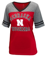 Nebraska Gals Jersey Package VNeck Nebraska Cornhuskers, Nebraska  Ladies T-Shirts, Huskers  Ladies T-Shirts, Nebraska  Ladies, Huskers  Ladies, Nebraska  Short Sleeve, Huskers  Short Sleeve, Nebraska Nebraska Gals Jersey Package VNeck, Huskers Nebraska Gals Jersey Package VNeck