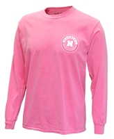 Nebraska Gals Strawberry Pink Dyed Tee Nebraska Cornhuskers, Nebraska  Ladies T-Shirts, Huskers  Ladies T-Shirts, Nebraska  Ladies, Huskers  Ladies, Nebraska Pink, Huskers Pink, Nebraska  Long Sleeve, Huskers  Long Sleeve, Nebraska Nebraska Gals Strawberry Pink Dyed Tee, Huskers Nebraska Gals Strawberry Pink Dyed Tee