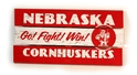 Nebraska Go Fight Win Plank Nebraska Cornhuskers, Nebraska  Bedroom & Bathroom, Huskers  Bedroom & Bathroom, Nebraska  Office Den & Entry, Huskers  Office Den & Entry, Nebraska  Game Room & Big Red Room, Huskers  Game Room & Big Red Room, Nebraska  Framed Pieces, Huskers  Framed Pieces, Nebraska Nebraska Go Fight Win Plank, Huskers Nebraska Go Fight Win Plank
