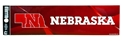 Nebraska Huskers Bumper Sticker Nebraska Cornhuskers, Nebraska Vehicle, Huskers Vehicle, Nebraska Stickers Decals & Magnets, Huskers Stickers Decals & Magnets, Nebraska Nebraska Huskers Bumper Sticker, Huskers Nebraska Huskers Bumper Sticker