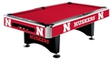 Nebraska Huskers Custom Pool Table Nebraska Cornhuskers, Nebraska  Game Room & Big Red Room, Huskers  Game Room & Big Red Room, Nebraska Nebraska Huskers Custom Pool Table, Huskers Nebraska Huskers Custom Pool Table