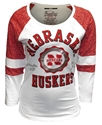 Nebraska Huskers Football Foil Bishop Tee Nebraska Cornhuskers, Nebraska  Ladies T-Shirts, Huskers  Ladies T-Shirts, Nebraska  Long Sleeve, Huskers  Long Sleeve, Nebraska  Ladies, Huskers  Ladies, Nebraska  Ladies Tops, Huskers  Ladies Tops, Nebraska Nebraska Huskers Football Foil Bishop Tee, Huskers Nebraska Huskers Football Foil Bishop Tee