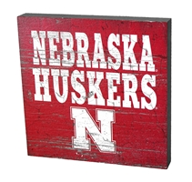 Nebraska Huskers Table Top Sign Nebraska Cornhuskers, Nebraska  Bedroom & Bathroom, Huskers  Bedroom & Bathroom, Nebraska  Game Room & Big Red Room, Huskers  Game Room & Big Red Room, Nebraska  Framed Pieces, Huskers  Framed Pieces, Nebraska Nebraska Huskers Table Top Sign, Huskers Nebraska Huskers Table Top Sign