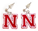 Nebraska Iron N Post Earrings Nebraska Cornhuskers, Nebraska Womens, Huskers Womens, Nebraska  Ladies Accessories, Huskers  Ladies Accessories, Nebraska Accessories, Huskers Accessories, Nebraska  Jewelry & Hair, Huskers  Jewelry & Hair, Nebraska  Ladies , Huskers  Ladies , Nebraska Nebraska Iron N Post Earrings, Huskers Nebraska Iron N Post Earrings