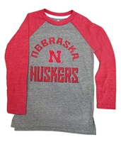 Nebraska Kids Gridiron Raglan Triblend Nebraska Cornhuskers, Nebraska  Childrens, Huskers  Childrens, Nebraska  Kids, Huskers  Kids, Nebraska  Long Sleeve, Huskers  Long Sleeve, Nebraska Nebraska Kids Gridiron Raglan Triblend, Huskers Nebraska Kids Gridiron Raglan Triblend