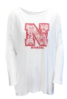 Nebraska Lace Henna Tee Nebraska Cornhuskers, Nebraska  Ladies Tops, Huskers  Ladies Tops, Nebraska  Long Sleeve, Huskers  Long Sleeve, Nebraska  Ladies, Huskers  Ladies, Nebraska Nebraska Lace Henna Tee, Huskers Nebraska Lace Henna Tee