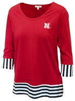 Nebraska Ladies Colorblock Tee Nebraska Cornhuskers, Nebraska  Ladies T-Shirts, Huskers  Ladies T-Shirts, Nebraska  Ladies, Huskers  Ladies, Nebraska  Ladies Tops, Huskers  Ladies Tops, Nebraska Nebraska Ladies Colorblock Tee, Huskers Nebraska Ladies Colorblock Tee