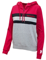 Nebraska Ladies Quarter Zip Kanga Hoodie Nebraska Cornhuskers, Nebraska  Ladies Outerwear, Huskers  Ladies Outerwear, Nebraska  Ladies, Huskers  Ladies, Nebraska Nebraska Ladies Quarter Zip Kanga Hoodie, Huskers Nebraska Ladies Quarter Zip Kanga Hoodie