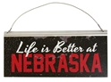 Nebraska Life Tin Sign Nebraska Cornhuskers, Nebraska  Office Den & Entry, Huskers  Office Den & Entry, Nebraska  Game Room & Big Red Room, Huskers  Game Room & Big Red Room, Nebraska  Framed Pieces, Huskers  Framed Pieces, Nebraska Nebraska Life Tin Sign, Huskers Nebraska Life Tin Sign