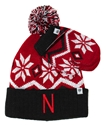 Nebraska Lil Frosty Hat Glove Set Nebraska Cornhuskers, Nebraska  Infant, Huskers  Infant, Nebraska  Childrens, Huskers  Childrens, Nebraska  Kids Hats, Huskers  Kids Hats, Nebraska Nebraska Lil Frosty Hat Glove Set, Huskers Nebraska Lil Frosty Hat Glove Set