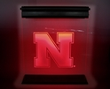 Nebraska N Acrylic LED Sign Nebraska Cornhuskers, Nebraska  Office Den & Entry, Huskers  Office Den & Entry, Nebraska  Game Room & Big Red Room, Huskers  Game Room & Big Red Room, Nebraska  Bedroom & Bathroom, Huskers  Bedroom & Bathroom, Nebraska Nebraska N Acrylic LED Sign, Huskers Nebraska N Acrylic LED Sign