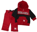 Nebraska N Fleece Pant and Jacket Set Nebraska Cornhuskers, Nebraska  Childrens, Huskers  Childrens, Nebraska  Infant, Huskers  Infant, Nebraska Nebraska N Fleece Pant and Jacket Set, Huskers Nebraska N Fleece Pant and Jacket Set