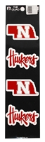 Nebraska N Huskers Decals Set Nebraska Cornhuskers, Nebraska Vehicle, Huskers Vehicle, Nebraska Stickers Decals & Magnets, Huskers Stickers Decals & Magnets, Nebraska Nebraska N Huskers Decals Set, Huskers Nebraska N Huskers Decals Set